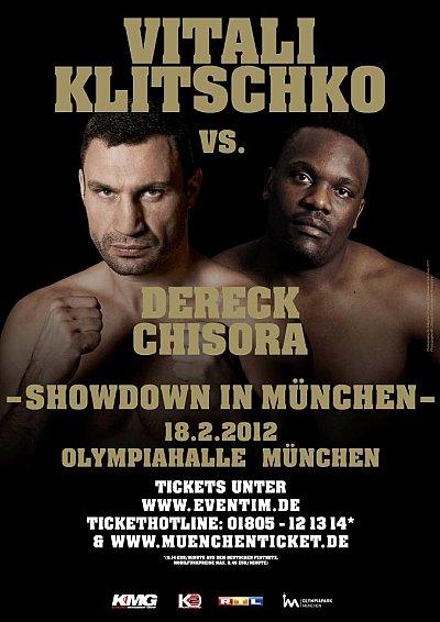 Klitschko vs. Chisora ©KMG.