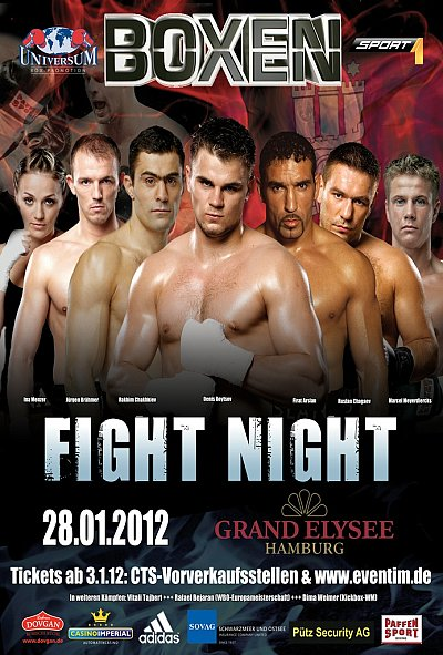 Universum Fight Night ©Universum Box-Promotion.