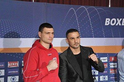 Alexander Alekseev, Enad Licina ©EC Boxpromotion.