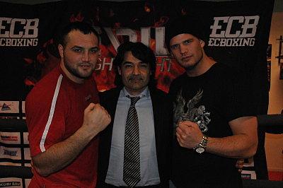 Christian Hammer, Erol Ceylan, Michael Wallisch ©EC Boxpromotion.