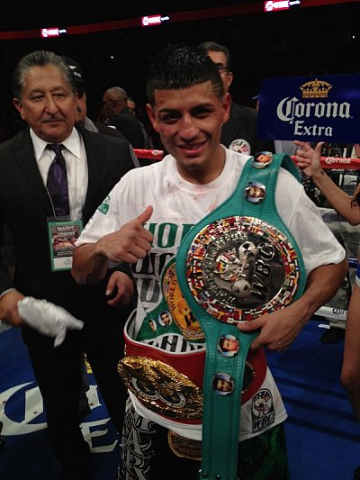 Abner Mares ©Team Mares.