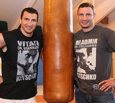 Wladimir Klitschko, Vitali Klitschko ©KMG.