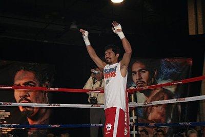 Immer noch #1 p4p: Manny Pacquiao ©Paddy Cronan.