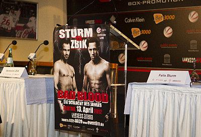 Sturm vs. Zbik ©Marianne Müller.