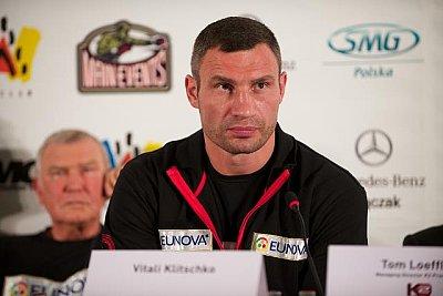 Fritz Sdunek, Vitali Klitschko ©KMG.