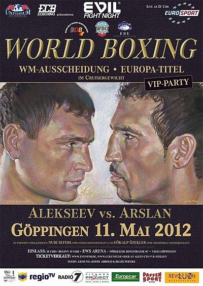 Alekseev vs. Arslan ©Universum.