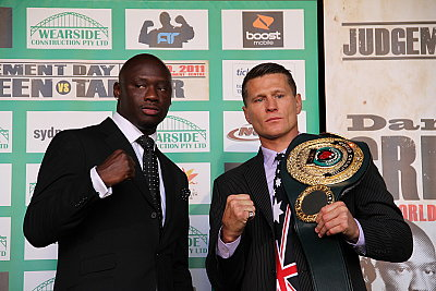 Antonio Tarver, Danny Green ©Team Green.