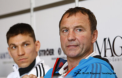 Karoly Balzsay, Michael Timm ©Eroll Popova / boxing.de.