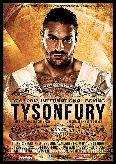 Tyson Fury ©Hennessy Sports.