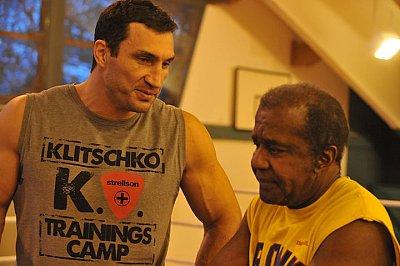 Wladimir Klitschko, Emanuel Steward ©KMG.