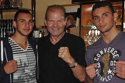 Abel Gevor, Jürgen Blin, Noel Gevor ©EC Boxing.