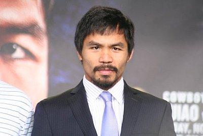 Manny Pacquiao ©Paddy Cronan/ONTHEGRiND BOXiNG.