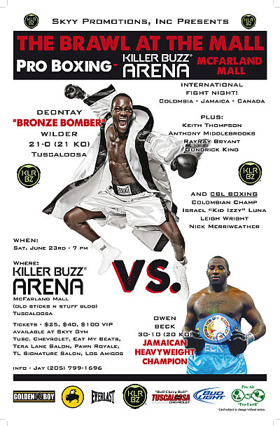 Deontay Wilder ©Skyy Promotions.