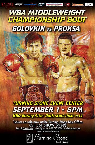 Golovkin vs. Proksa ©K2 Promotions.