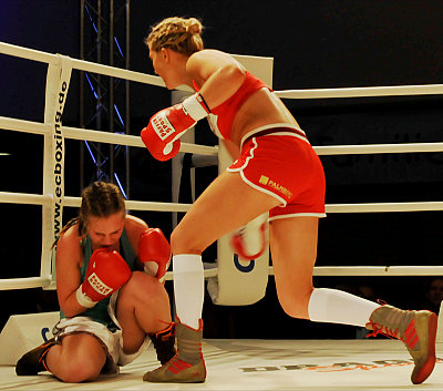 Klara Svensson ©EC Boxpromotion.