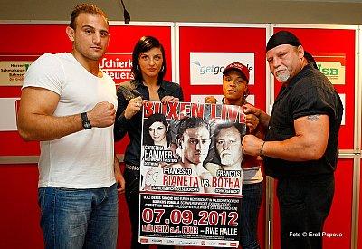 Francesco Pianeta, Christina Hammer, Yahaira Hernandez, Francois Botha ©Eroll Popova.