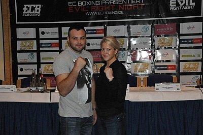 Christian Hammer, Klara Svensson ©EC Boxpromotion.
