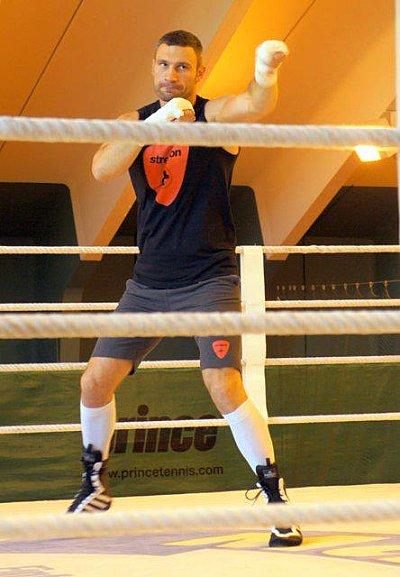 Vitali Klitschko, Fritz Sdunek ©KMG.