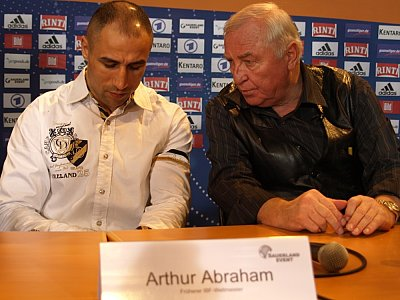 Arthur Abraham, Ulli Wegner ©SE.