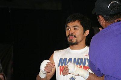 Manny Pacquiao ©Paddy Cronan.