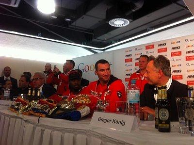 Team Klitschko ©KMG.