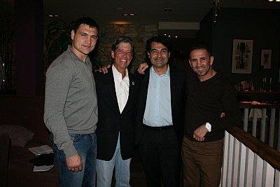 Alexander Alekseev, Edward S. Levine, Erol Ceylan, Oktay Urkal ©EC Boxpromotion.