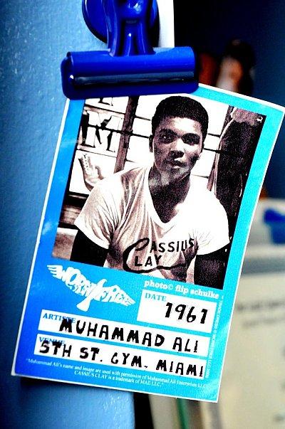 Muhammad Ali ©Claudia Bocanegra.