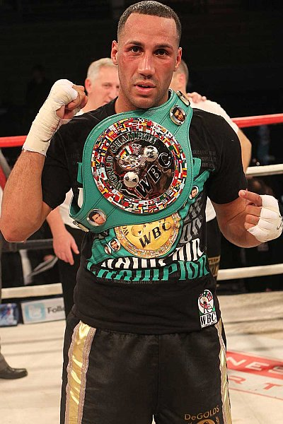 James DeGale ©Hennessy Sports.
