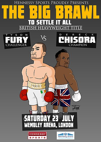 Fury vs. Chisora ©Hennessy Sports.