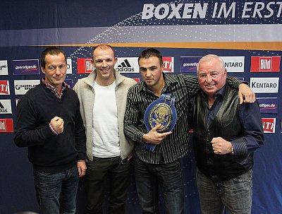 Karsten Röwer, Jürgen Brähmer, Eduard Gutknecht, Ulli Wegner ©SE.