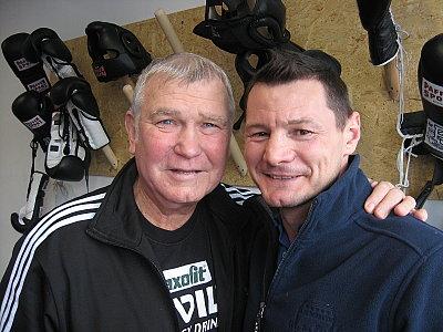 Fritz Sdunek, Zsolt Erdei ©EC Boxing.