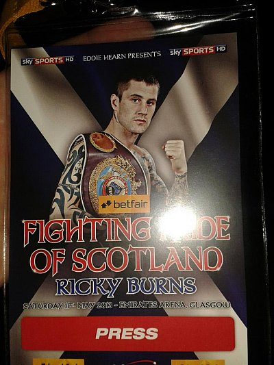 Ricky Burns ©Andrew Paterson.