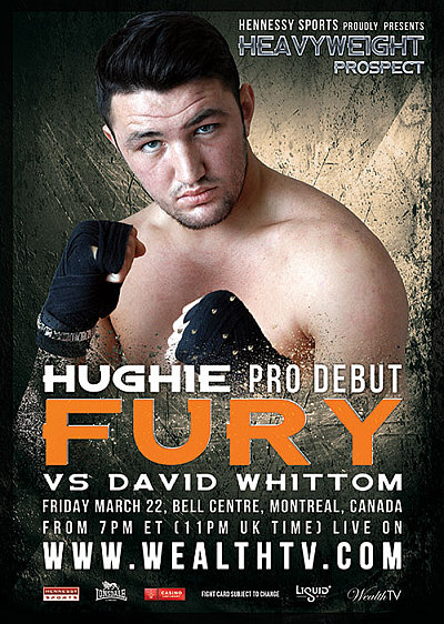 Hughie Fury ©Hennessy Sports.