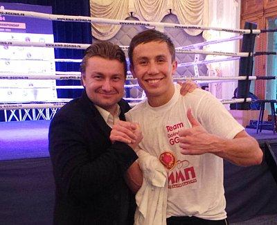 Gennady Golovkin ©GGG Boxing.