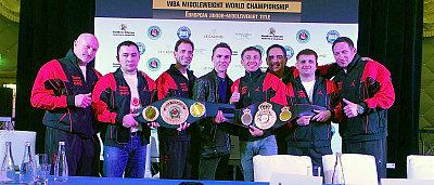 Team Golovkin ©GGG Boxing.