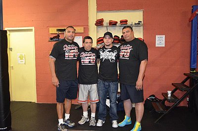 John Ruiz, Eddie Rivera, Rich Minor, Eddie Ruiz ©AFO.
