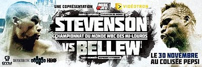 Stevenson vs. Bellew ©GYM.