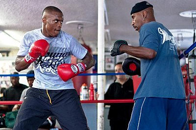 Peter Quillin, Eric Brown ©Team Quillin.