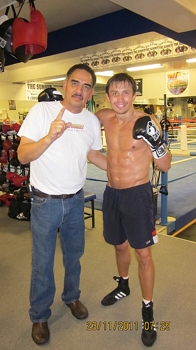 Abel Sanchez, Gennady Golovkin ©GGG-Boxing.