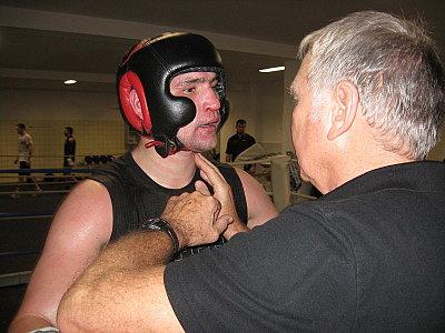 Alexander Alekseev, Fritz Sdunek ©EC Boxing.