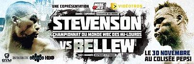 Stevenson vs. Bellew ©GYM.
