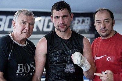 Fritz Sdunek, Alexander Alekseev, Bülent Baser ©EC Boxpromotion.