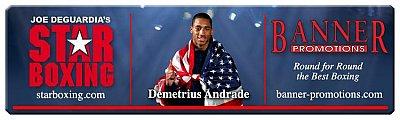 Demetrius Andrade ©Star Boxing.