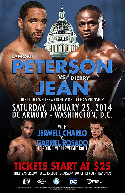 Peterson vs. Jean ©Golden Boy Promotions.