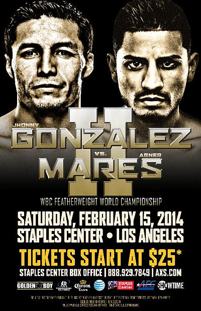 Gonzalez vs. Mares II ©Golden Boy Promotions.