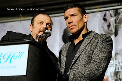 Sampson Lewkowicz, Sergio Martinez ©Claudia Bocanegra.