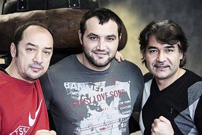 Bülent Baser, Christian Hammer, Erol Ceylan ©EC Boxpromotion.