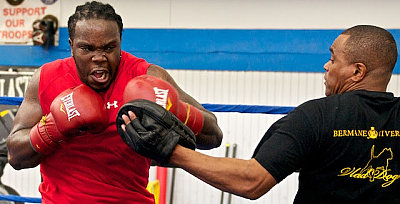 Bermane Stiverne, Don House ©Eye Of The Tiger Management.