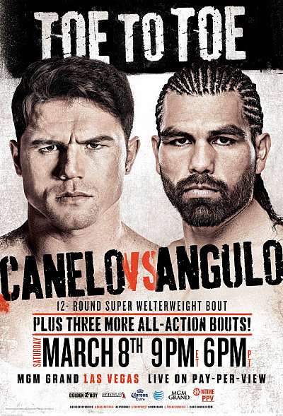 Canelo vs. Angulo ©Golden Boy Promotions.