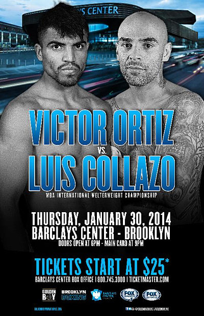 Victor Ortiz ©Golden Boy Promotions.